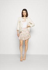 Guess - TATIANA SKIRT - A-line skirt - light pink/multi-coloured - 1