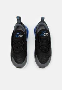 Nike Sportswear - AIR MAX 270 BT - Trainers - black/game royal/iron grey/white - 3