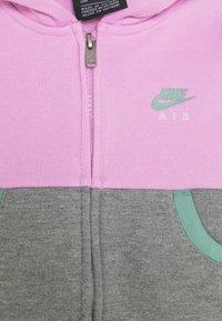 Nike Sportswear - AIR LEGGING SET - Zip-up hoodie - artic pink - 3