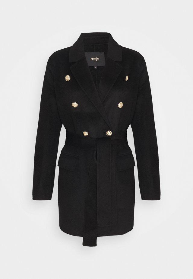 GABIE - Płaszcz wełniany /Płaszcz klasyczny - noir
