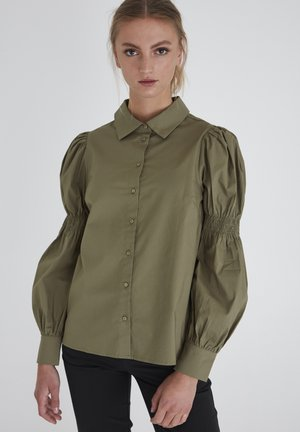 IXGRENNA SH - Button-down blouse - feldspar