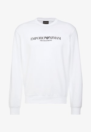 Sweatshirt - bianco ottico