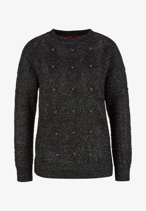 TRUI - Jumper - black knit