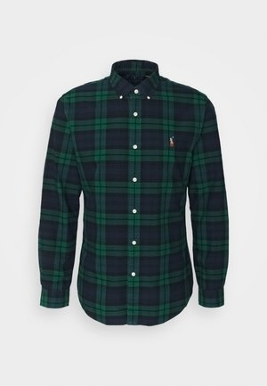 OXFORD - Shirt - green/navy