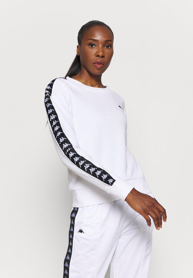 HANKA - Sweatshirt - bright white