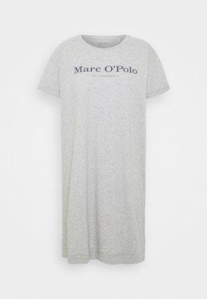 SLEEPSHIRT CREW NECK - Pyžamový top - grau-meliert