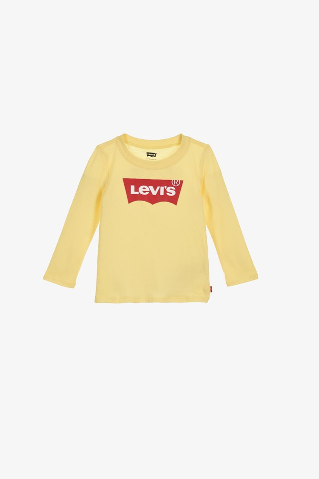 RUFFLE - Long sleeved top - yellow