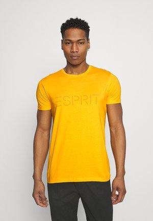 LOGO - Printtipaita - sunflower yellow