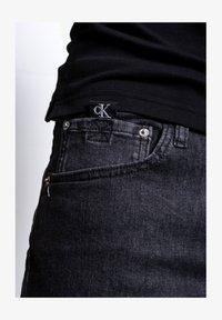 Calvin Klein Jeans - Denim shorts - black - 4