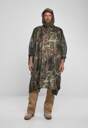 Waterproof jacket - flecktarn