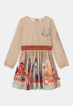 CHRISTINE - Robe d'été - beige