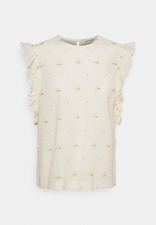 DOYA - T-shirt z nadrukiem - white