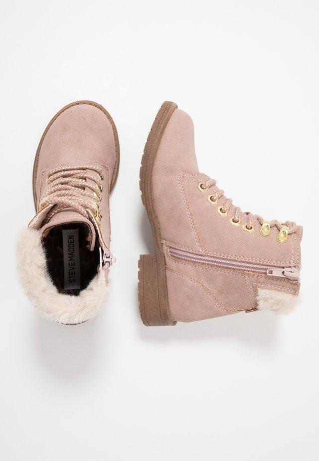 JALPS - Lace-up ankle boots - blush