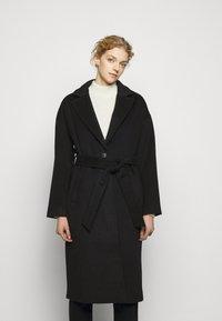 Bruuns Bazaar - SALLIE JEZZE COAT - Klasický kabát - night sky - 0