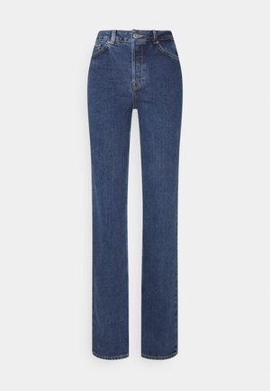 LONG HARBOUR - Vaqueros rectos - medium blue denim