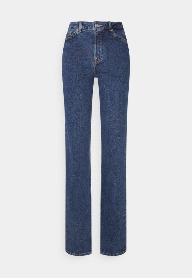 LONG HARBOUR - Straight leg jeans - medium blue denim