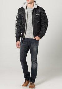 Alpha Industries - Light jacket - black/grey - 1