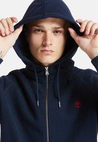 Timberland - EXETER RIVER FULL ZIP - Zip-up hoodie - dark sapphire - 5