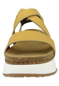 Art - Platform sandals - sun - 4