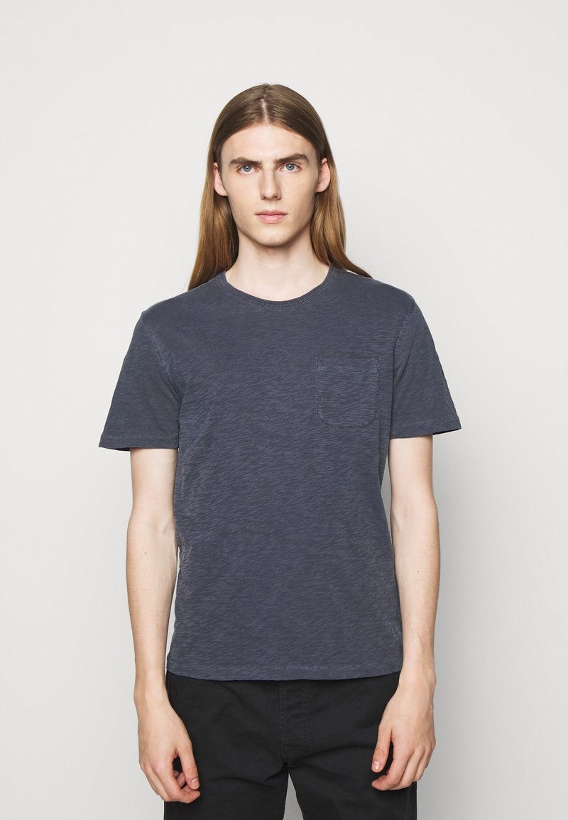 YMC You Must Create - WILD ONES POCKET - T-shirt basique - navy