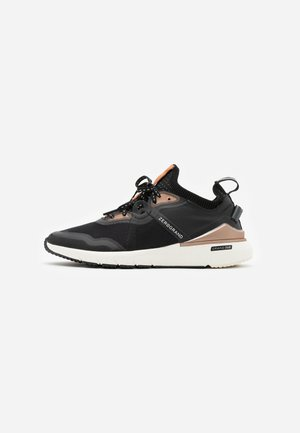 ZEROGRAND COMPLETE RUNNER - Sneakers - gray pinstripe/black/rose gold metallic/ivory