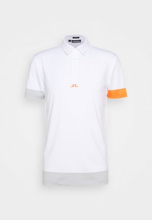 PER REGULAR FIT GOLF - Polo shirt - white