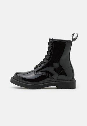 1460 MONO - Lace-up ankle boots - black