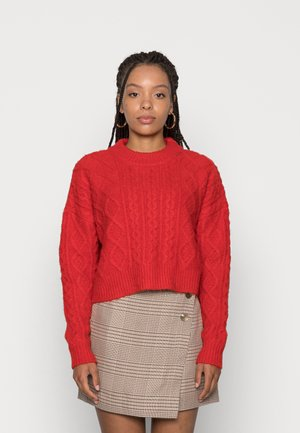 CABBIE CABLE - Jumper - red