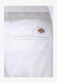 Dickies - 874 CROPPED PANTS - Bukser - white - 4