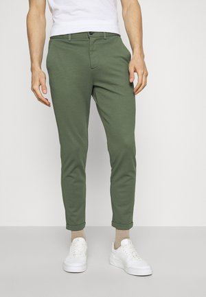 SUPERFLEX PANTS - Trousers - army