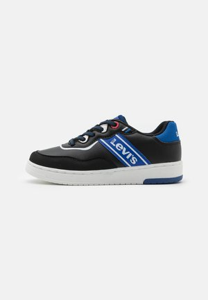 IRVING  - Sneakers laag - black/blue