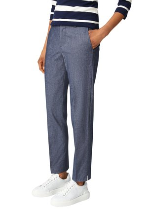 Spodnie materiałowe - navy blau