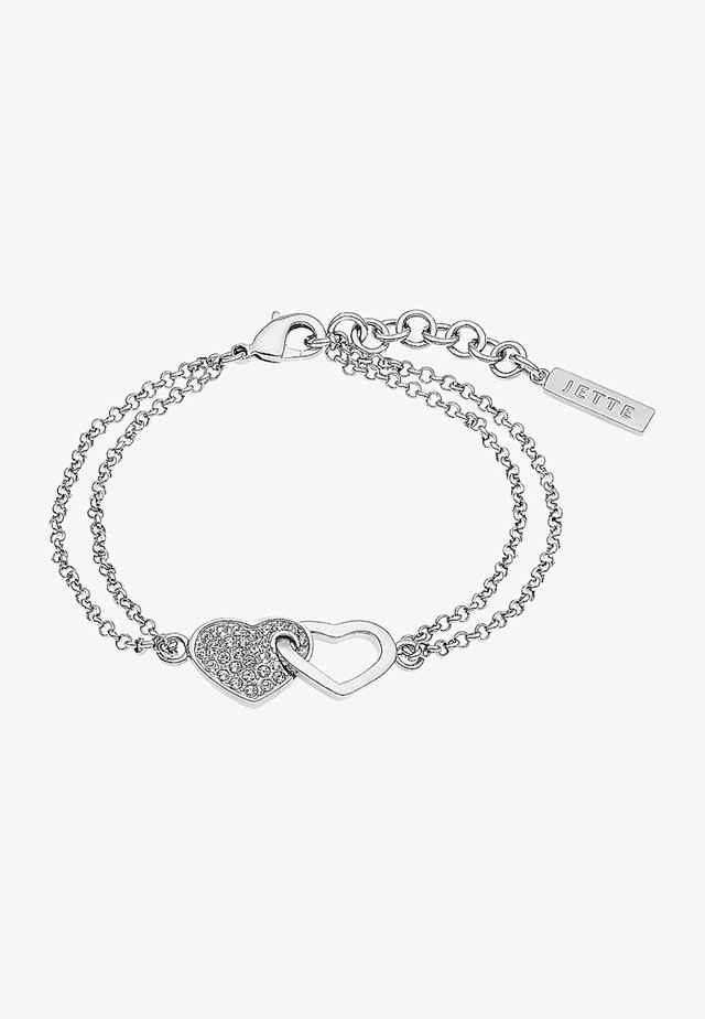 JETTE  - Bracelet - silver-coloured