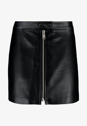LENA SKIRT - Mini skirt - black