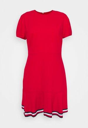 SKATER DRESS - Day dress - primary red