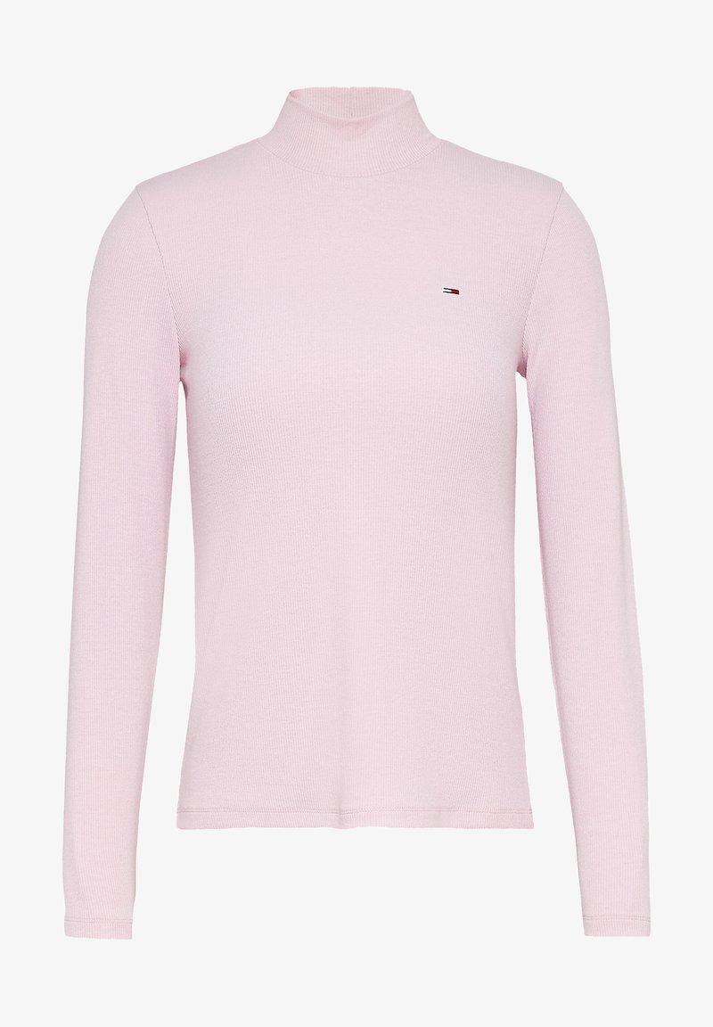 Tommy Jeans - LONGSLEEVE - Jumper - tj romantic pink
