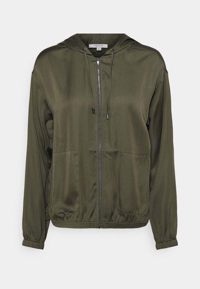 comma casual identity - LANGARM - Summer jacket - khaki