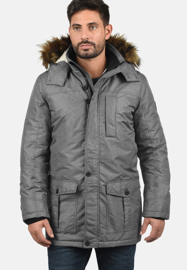 OCTAVUS - Winter coat - grey melange
