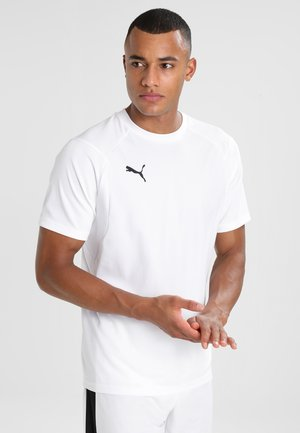 LIGA  - Sports shirt - white/black