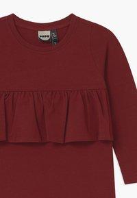 Papu - WAVE - Žerzejové šaty - deep red - 2
