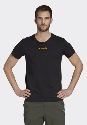 TERREX GRAPHIC T-SHIRT - T-shirt med print - black