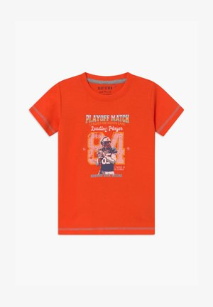 SMALL BOYS AMERCIAN FOOTBALL - T-shirt print - orange