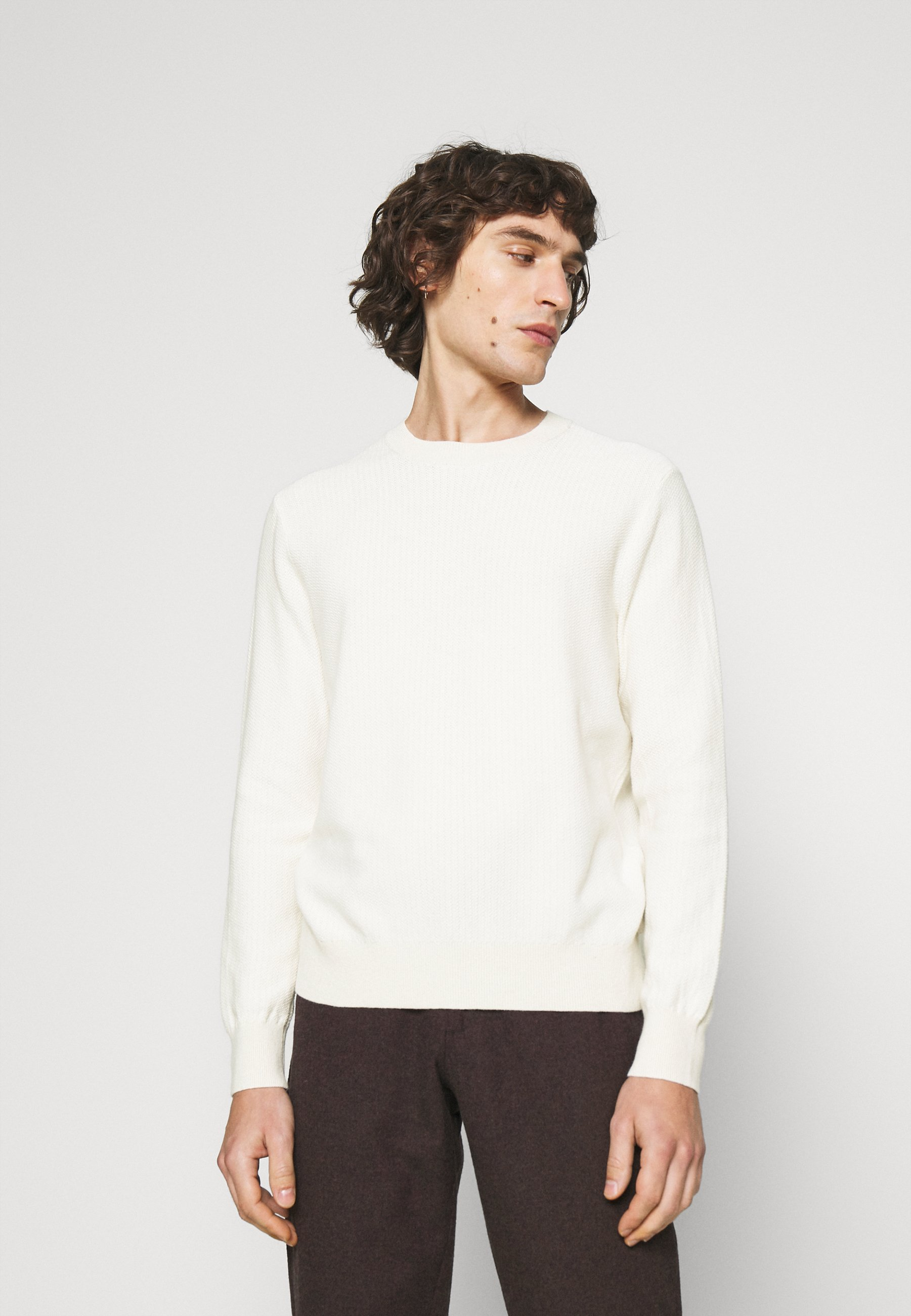 Homme TEXTURE CREW - Pullover