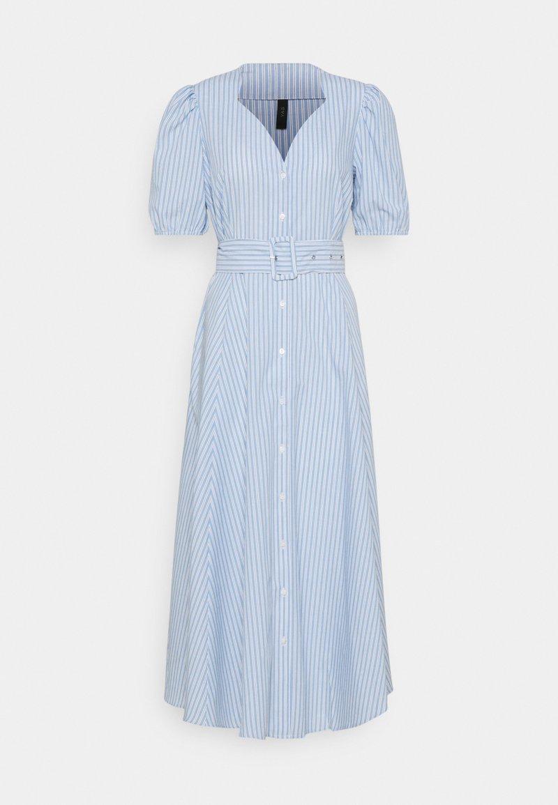 YAS - YASCASA LONG DRESS - Maxi dress - della robbia blue