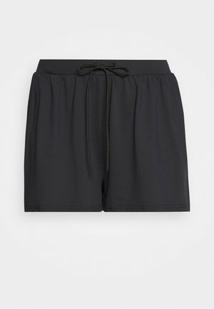 FLUX SHORTS - Sports shorts - onyx with flame