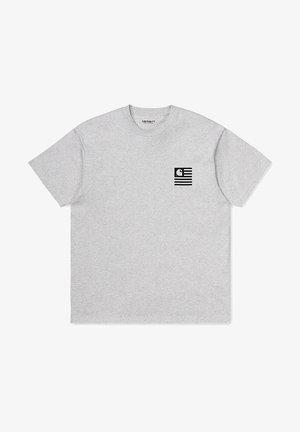 STATE CHROMO  - Print T-shirt - ash heather