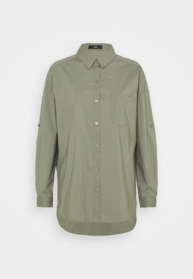 NADJA BLOUSE - Button-down blouse - jungle
