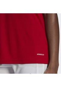 adidas Performance - SQUADRA 21 - T-shirts med print - team power red white - 5