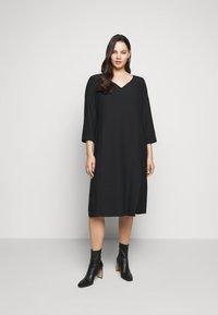 Persona by Marina Rinaldi - DORIS - Shift dress - black - 1