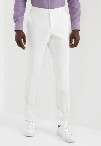 Lindbergh - PLAIN MENS SUIT - Oblek - white - 4